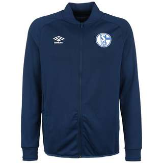UMBRO FC Schalke 04 Sweatjacke Herren dunkelblau / weiß