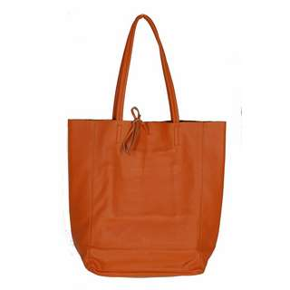 Zwillingsherz Anita Handtasche Damen orange