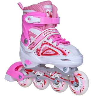 Apollo Super Blades X-Pro Inline-Skates weiß/pink