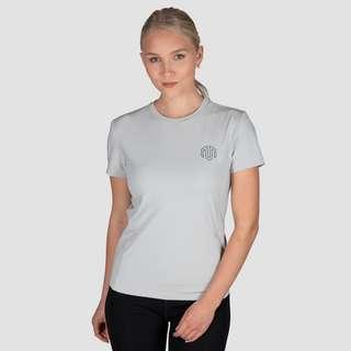 MOROTAI Active Dry Tee T-Shirt Damen Hellgrau