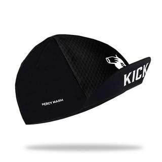PERCY MASH Kick it! Cycling Cap Helmmütze black