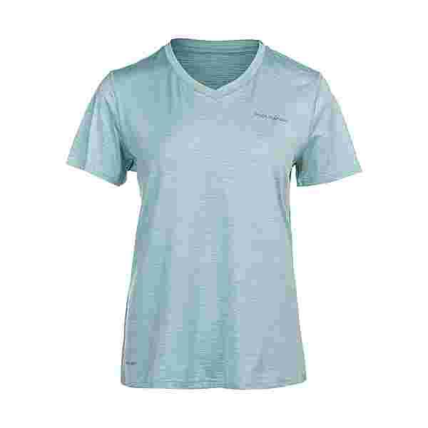 Endurance Maje Melange Printshirt Damen 3102 Blue Haze