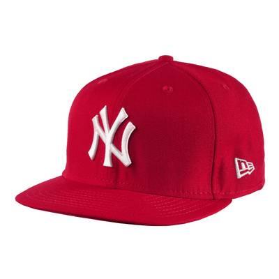 New Era Cap rot/weiß