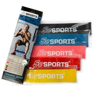 ScSPORTS Fitnessband  50 cm Set Gymnastikband bunt