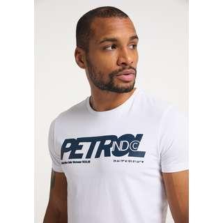 Petrol Industries T-Shirt Herren Bright White