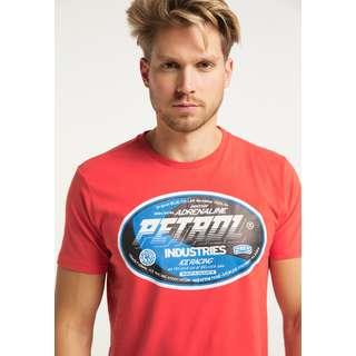 Petrol Industries Printshirt Herren Red Chili