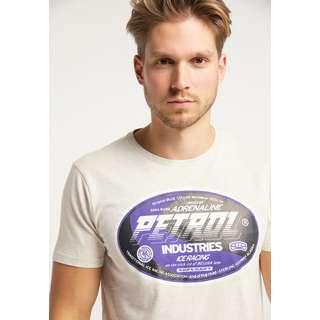 Petrol Industries Printshirt Herren Antique White Melee