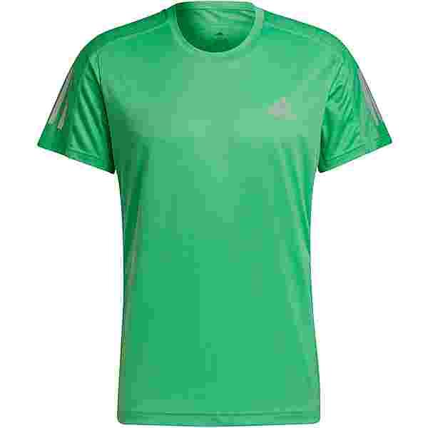 adidas own the run Funktionsshirt Herren semi screaming green