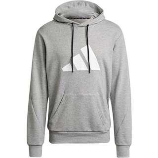 adidas Future Icon 3B Hoodie Herren medium grey heather