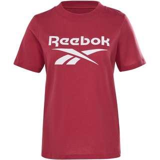 Reebok Big Logo T-Shirt Damen punch berry