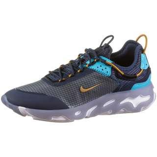 Nike React Live Sneaker Herren midnight navy-wheat-turquoise blue