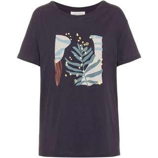 ARMEDANGELS Nelaa Grafic Leaf T-Shirt Damen anthra