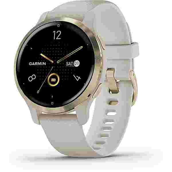 Garmin Venu 2 S Smartwatch beige-hellgold