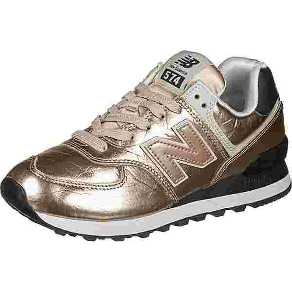NEW BALANCE WL574 W Sneaker Damen gold