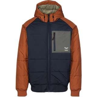 iriedaily Restep Winterjacke Herren blau/orange