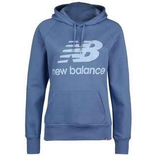 NEW BALANCE Essentials Hoodie Damen blau