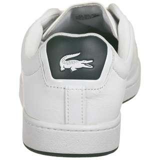 Lacoste Carnaby Evo Sneaker Herren weiß / dunkelgrün