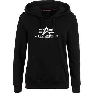 Alpha Industries New Basic Hoodie Damen schwarz