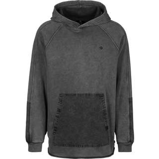CONVERSE Washed Jersey Pullover Hoodie Herren grau