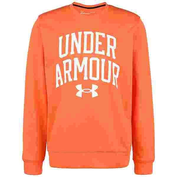 Under Armour Rival Terry Crew Sweatshirt Herren rot / weiß