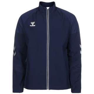 hummel hmlLEAD Trainingsjacke Herren dunkelblau / weiß