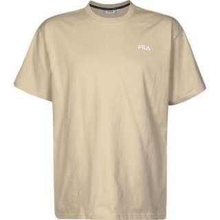 FILA Fonda Oversized Dropped Shoulder T-Shirt beige