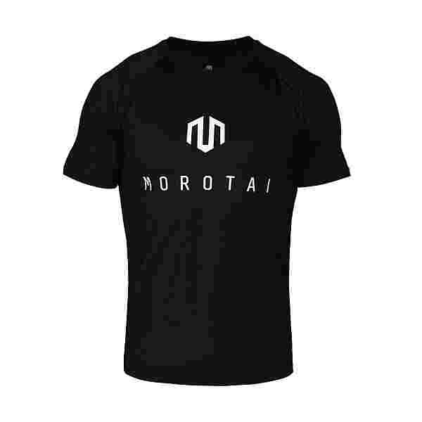 MOROTAI Performance Corporate T-Shirts Funktionsshirt Herren Black Reflector