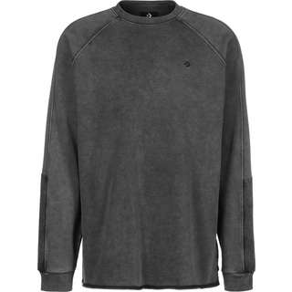 CONVERSE Washed Jersey Sweatshirt Herren grau