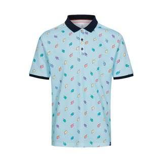 Colours & Sons Elias Poloshirt Herren blau