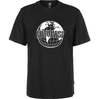 CONVERSE Global Graphic T-Shirt Herren schwarz