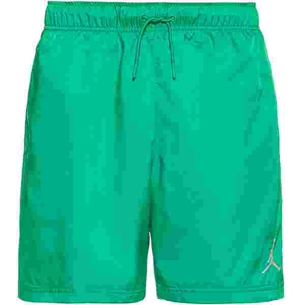 Nike Jumpman Poolside Badeshorts Herren stadium green-white