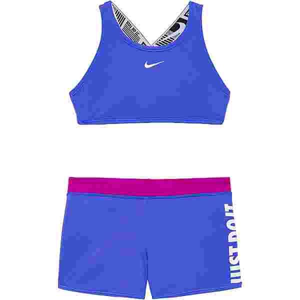 Nike CROSSBACK Bikini Set Kinder sapphire
