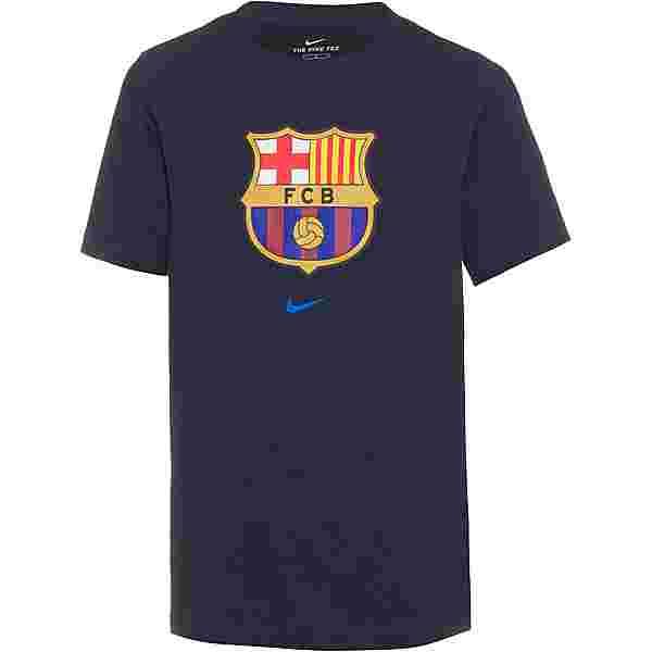 Nike FC Barcelona T-Shirt Kinder obsidian