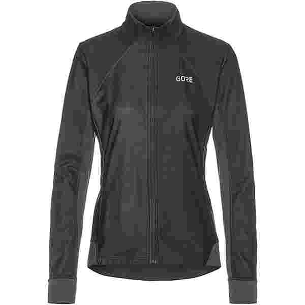 GORE® WEAR R3 Partial Funktionsshirt Damen black-terra grey