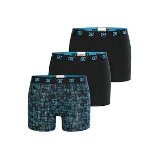 CR7 Cristiano Ronaldo CR7 Underwear Boxer Herren blau/schwarz