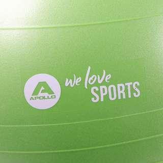 Apollo ø 65 cm Anti Burst Fitnessball Gymnastikball grün