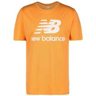 NEW BALANCE Essentials Stacked Logo T-Shirt Herren rot