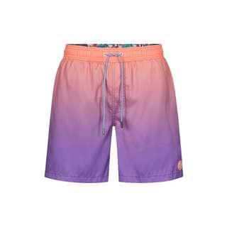 Colours & Sons Salomon Badeshorts Herren orange-violett