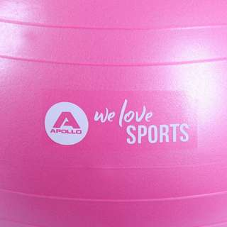 Apollo ø 65 cm Anti Burst Fitnessball Gymnastikball pink