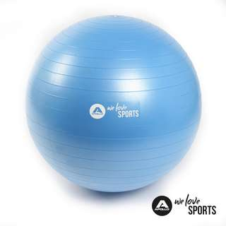 Apollo ø 65 cm Anti Burst Fitnessball Gymnastikball blau