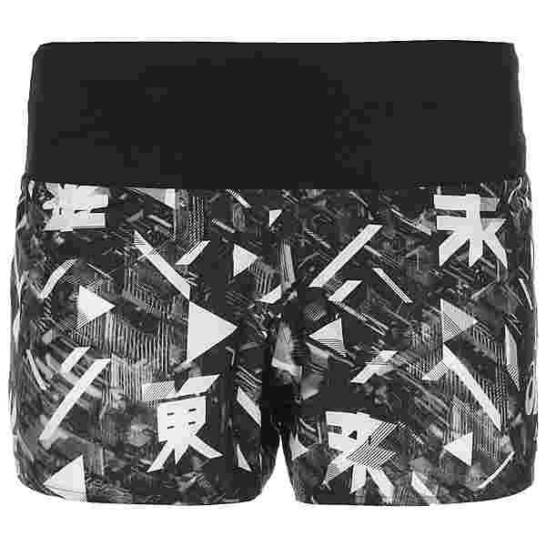 ASICS Future Tokyo Laufshorts Damen schwarz / weiß