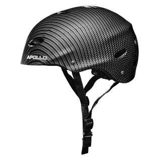Apollo Skatehelm mit Design Skate Helm Bright Carbon