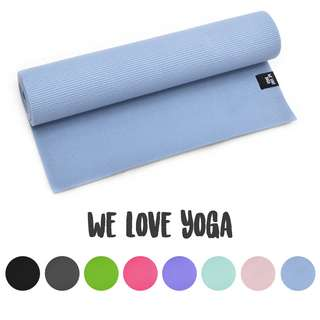 ZenPower We Love Yoga 183x60x0,6 cm Matte hellblau