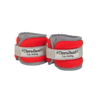 TheraBand Gewichtsmanschetten (1 Paar) Gewichtsmanschette rot