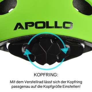 Apollo Skatehelm Skate Helm grün