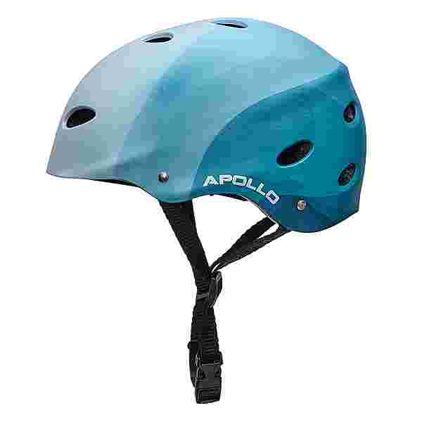 Apollo Skatehelm mit Design Skate Helm Blue Wave