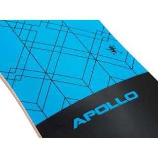 Apollo Kiribati Longboard blau/schwarz