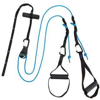 aerobis aeroSling Elite Plus Schlingentrainer schwarz, blau