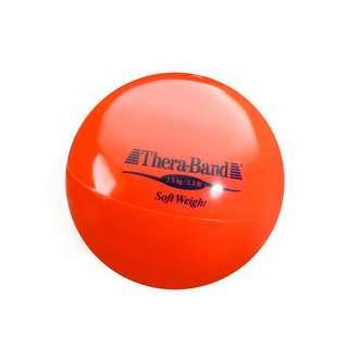 TheraBand Gewichtsball Fitnessgerät rot