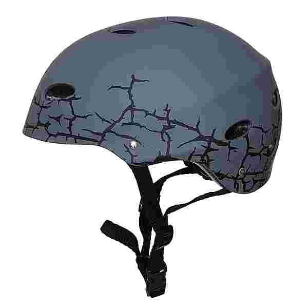 Apollo Skatehelm mit Design Skate Helm Cracked